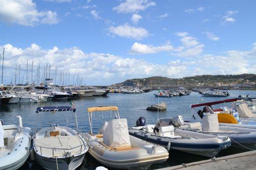 port boats sea