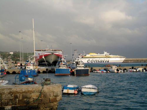 port port city spain
