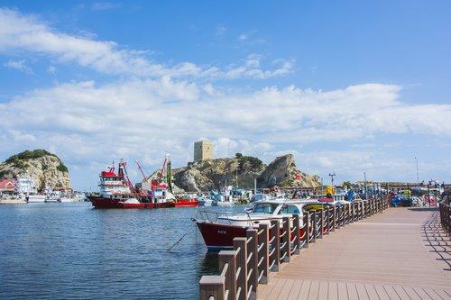 port  beach  sile