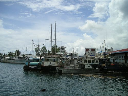 port ships samoa