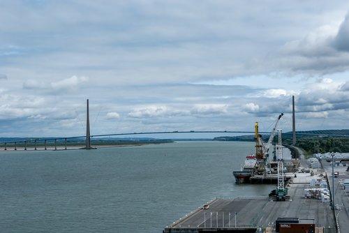port  sea  normandy