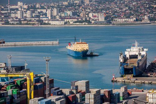 port ship sea