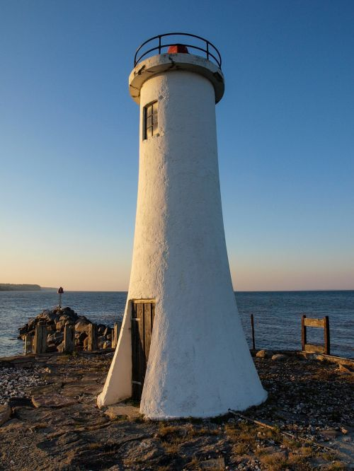 port lighthouse denmark