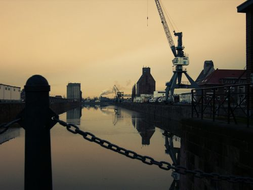port water evening