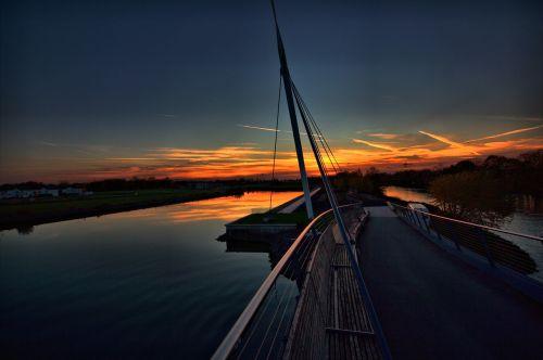 port bismark rhine herne canal gelsenkirchen