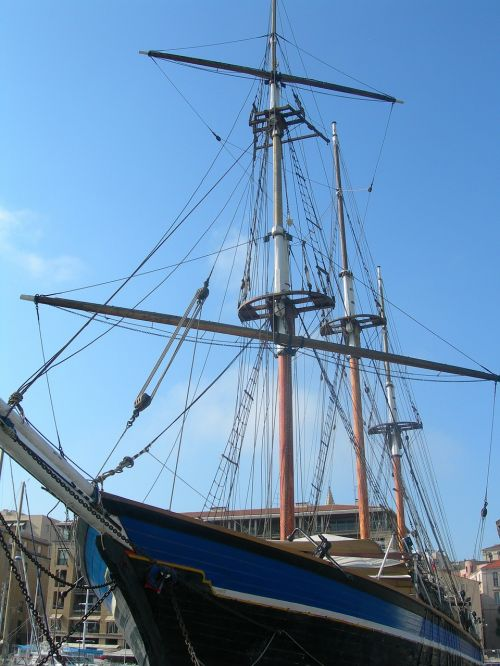 sailboat marseille port
