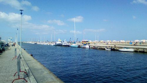 port of viareggio viareggio ditch
