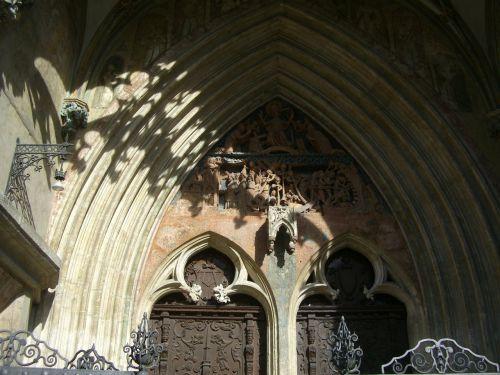 portalas,arka,pietryčių portalas,vestuvių portalas,teismo portalas,gotika,tracery,palengvėjimas,frize,smailas lankas,įvestis,medinės durys,münsteris,ulm,architektūra,papuoštas portalas,drožyba,ulmi katedra,ornamentas,papuoštas,bažnyčios durys