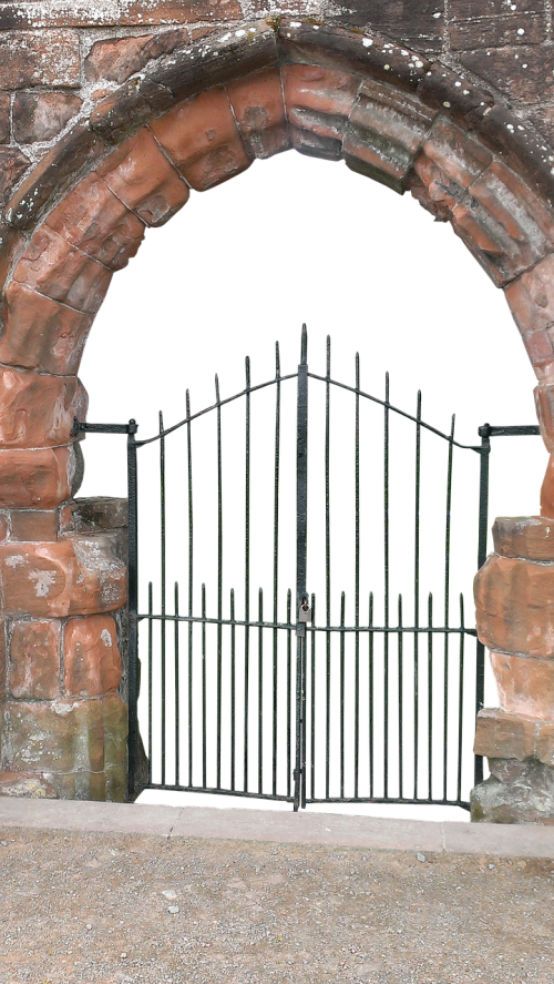 portal pointed arch archway
