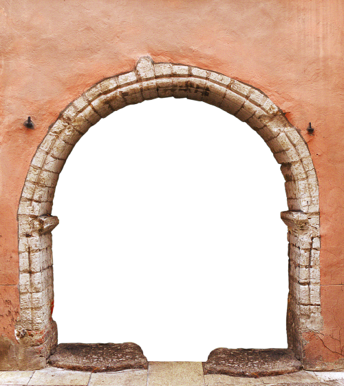 portal archway by looking