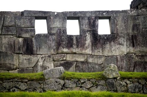 portals machupicchu stones inca architecture