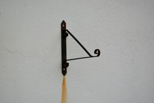 Wrought Iron Sign Door