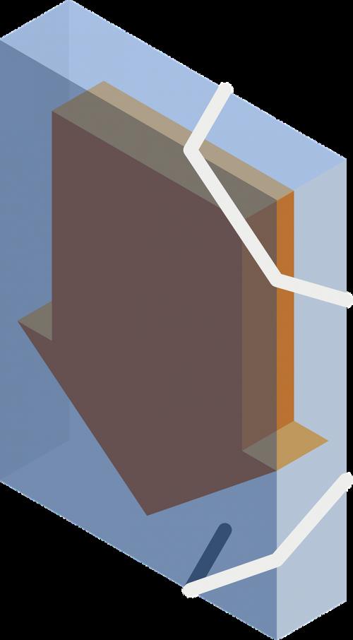 portfolio folder arrow