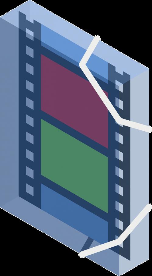 portfolio folder movie
