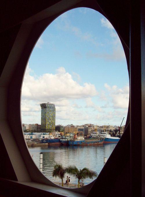 porthole gran canaria view