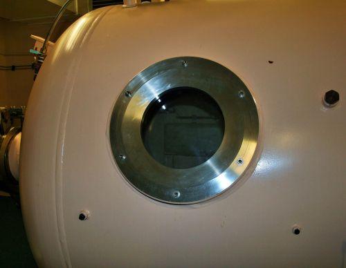 Porthole On Hyperbaric Chamber