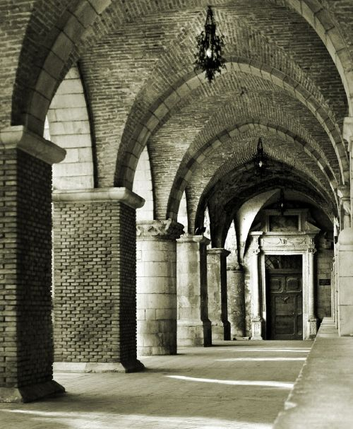 portico church santa maria maggiore