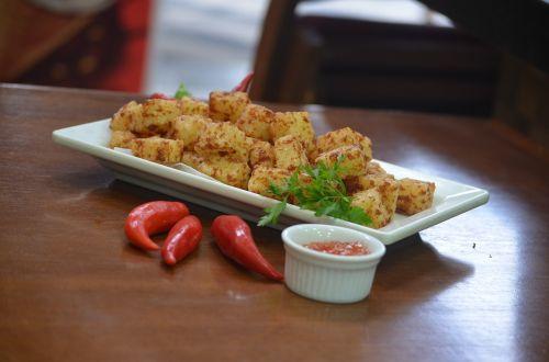 portion dadinho tapioca pepper