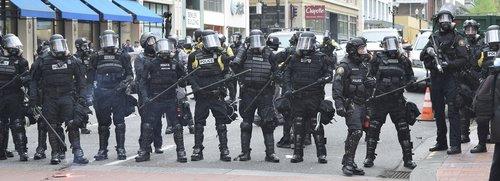portland  police  protest