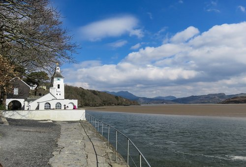 portmeirion  snowdonia  north wales