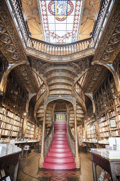 porto  the livraria lello  bookshop