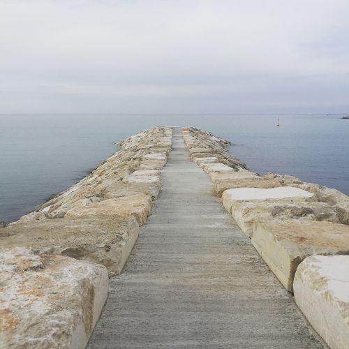 porto rocks sea