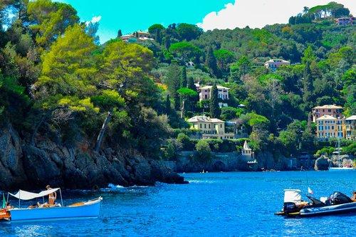 portofino  liguria  yacht