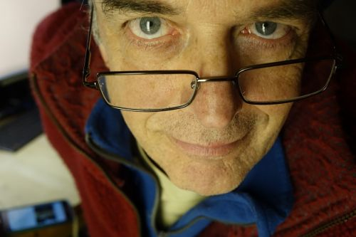 portrait man glasses