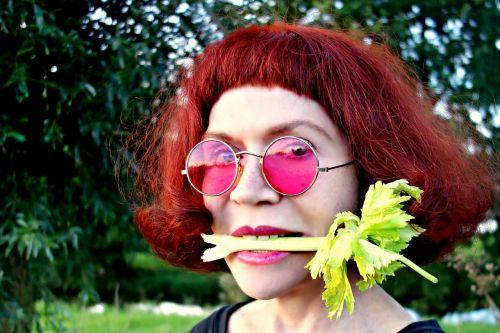 portrait face woman