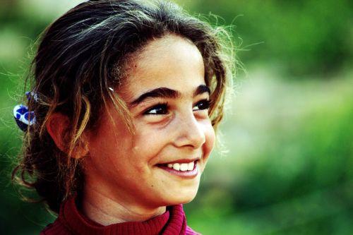 portrait child smile