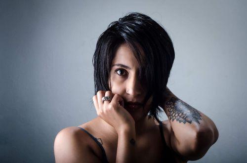 portrait women tattoo