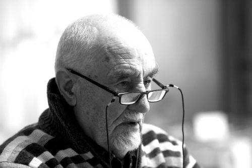 portrait man senior