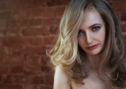 portrait blonde loft