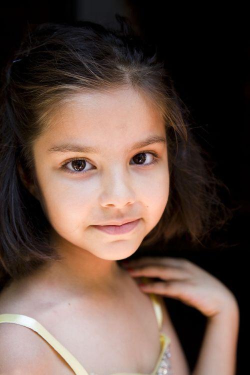 portrait girl child