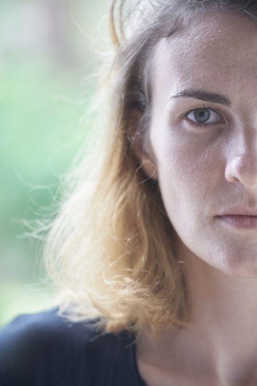 portrait women's young