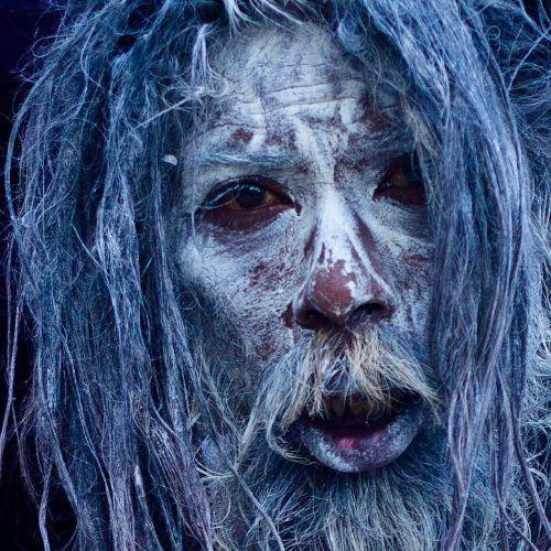 portrait halloween zombie