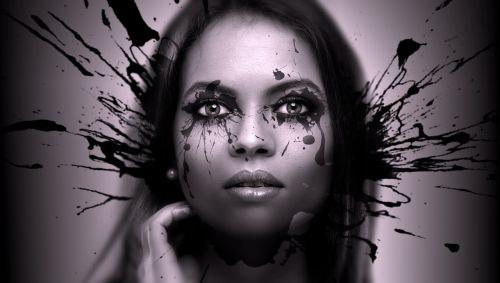 portrait woman black