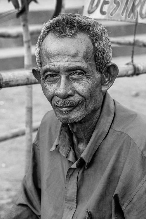 portrait old elder