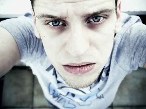 portrait face pale