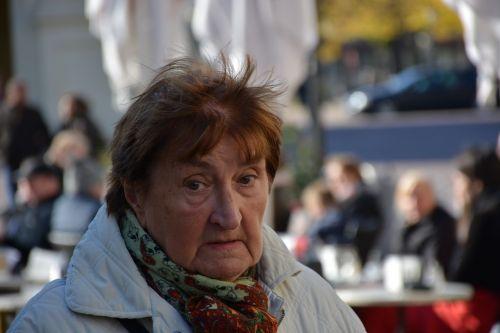 portrait women's power lady