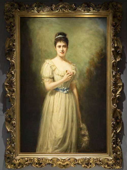 portrait before marriage margaret greville owner polsden lacey