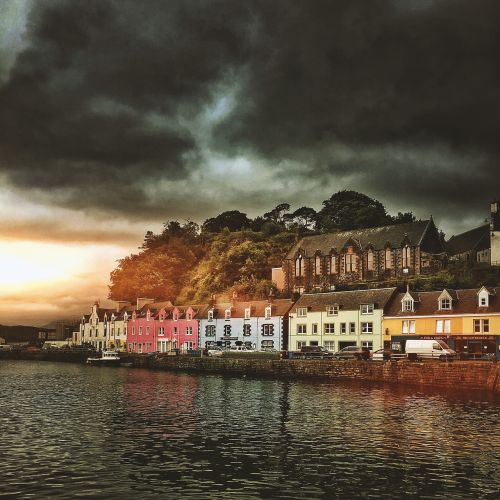 portree scotland highlands and islands
