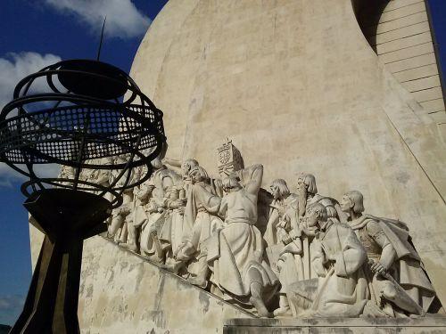 portugal sailors monument vision
