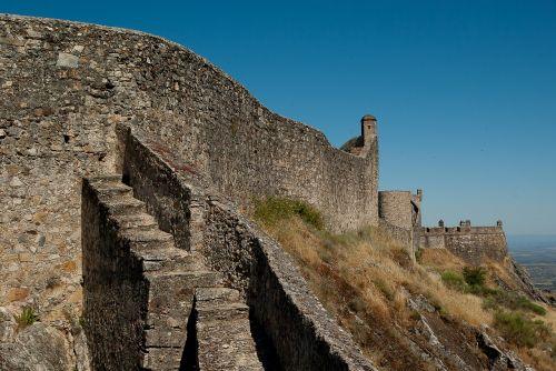portugal marvão ramparts
