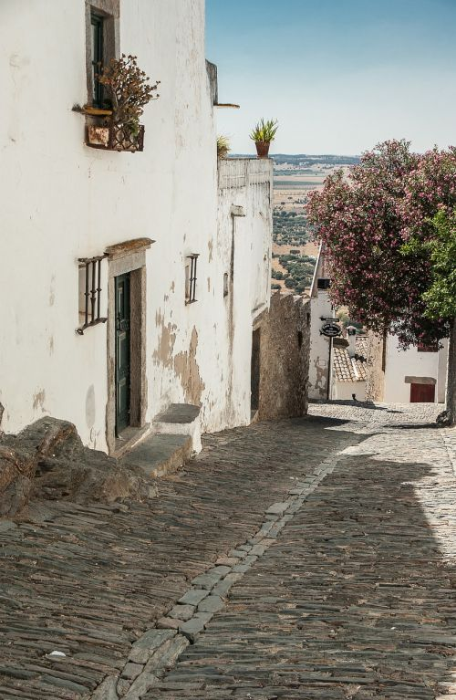 portugal streets pavers