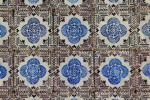 portugal tile wall