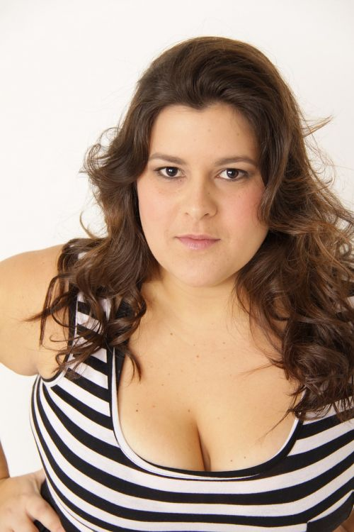 woman fat plus size