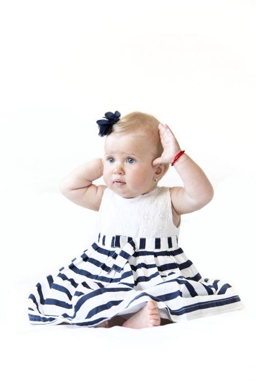 Posing Baby Girl