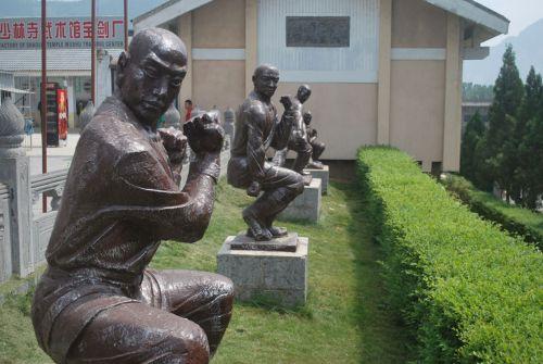 Posing Statues