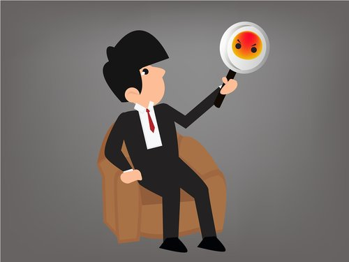 positive thinking  businessman  concept
